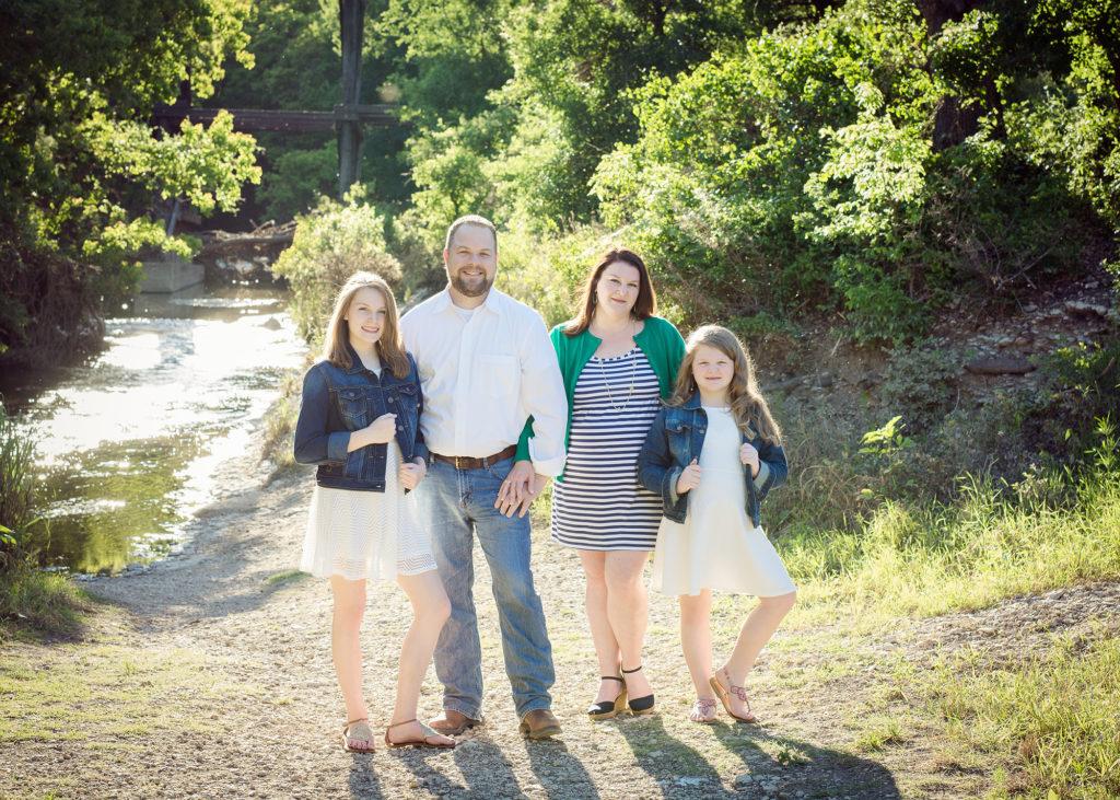 Catherine Bird and Family