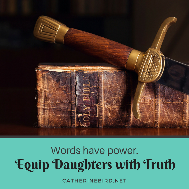 Equipping moms and daughters with truth - catherinebird.net