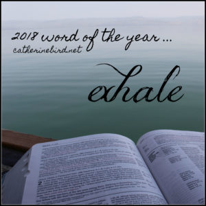 Word of the Year 2018 - catherinebird.net