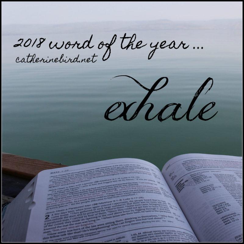 Word of the Year 2018 - catherinebird.net