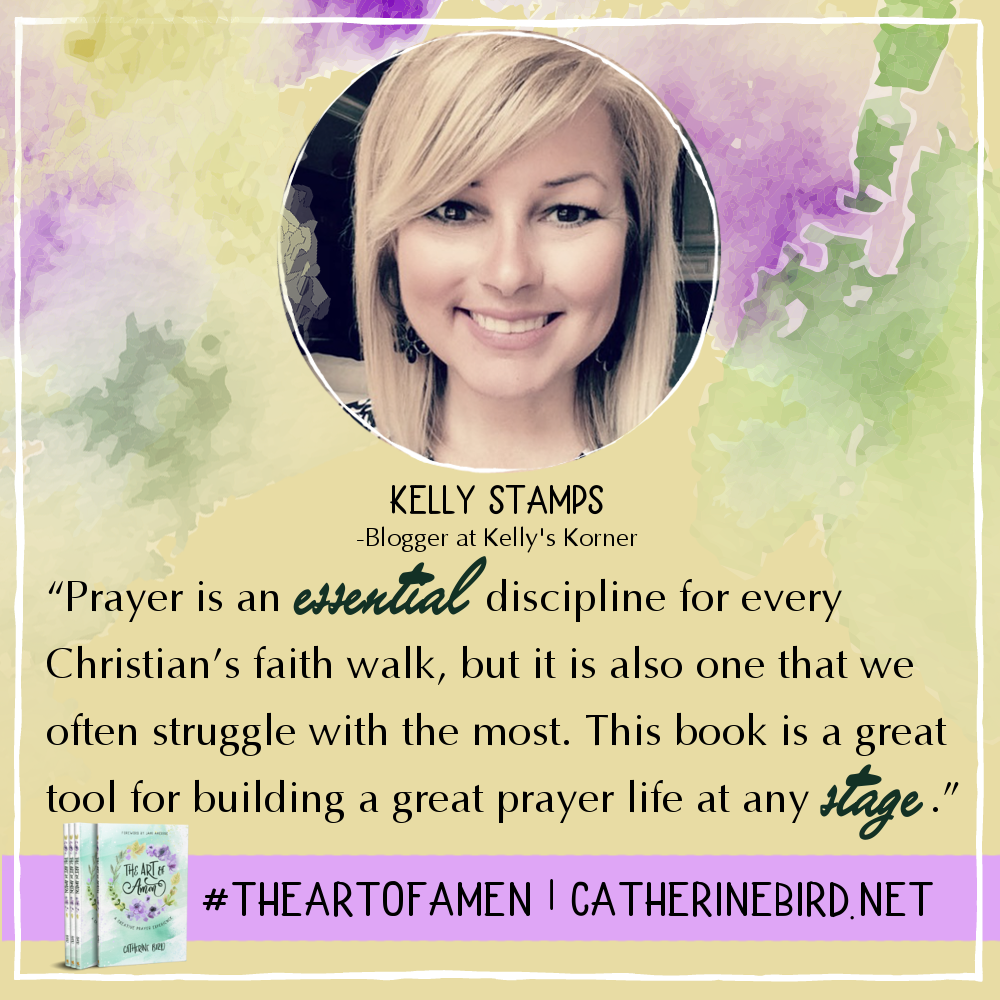 This is a great tool for building a great prayer life at any stage. - Kelly Stamps #theartofamen