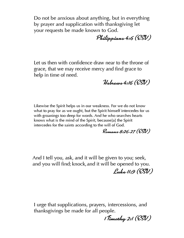 Catherine Bird: The Art of Amen Scripture Bookmarks